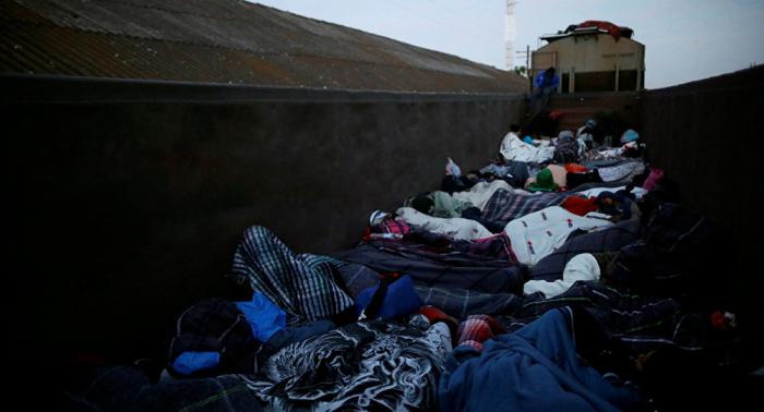 Nueva caravana de 3.000 migrantes centroamericanos ingresa en sur de México
