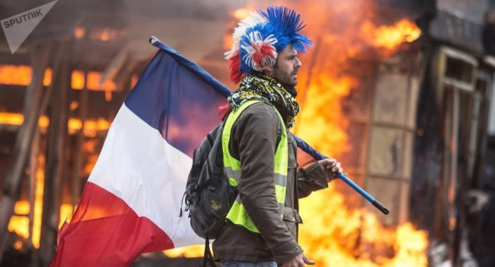 """Zusammenstöße bei """"Gelbwesten""""-Protesten in Toulouse"""
