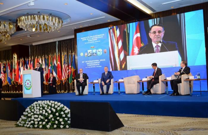 XXXVI Conferencia Internacional sobre el Narcotráfico en Bakú
