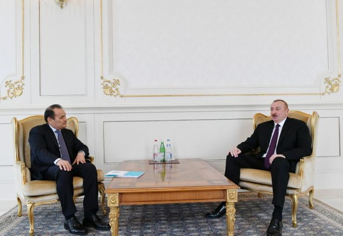 Ilham Aliyev reçoit le secrétaire général du Conseil de coopération des Etats turcophones