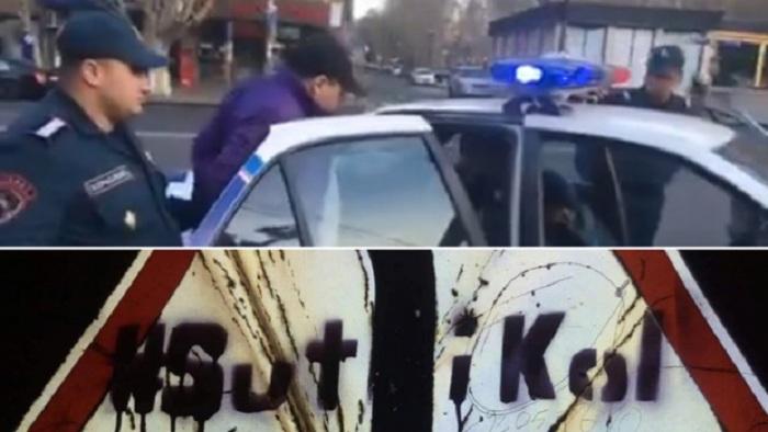 Tərəfdarları Paşinyana qarşı çıxdı, 5 nəfər həbs edildi