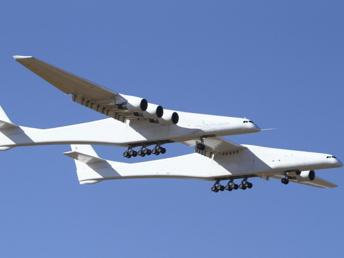 World's largest aircraft takes flight for first time