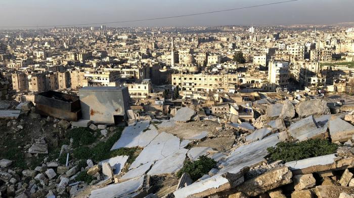 Der Duft von Seife über Aleppos Ruinen