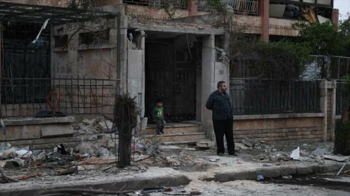 Mueren 11 civiles, niños incluidos, en ataque terrorista en Alepo
