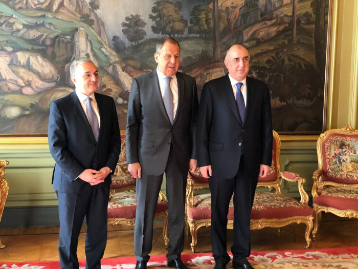 Azerbaijani, Armenian FMs meet in Moscow - UPDATED
