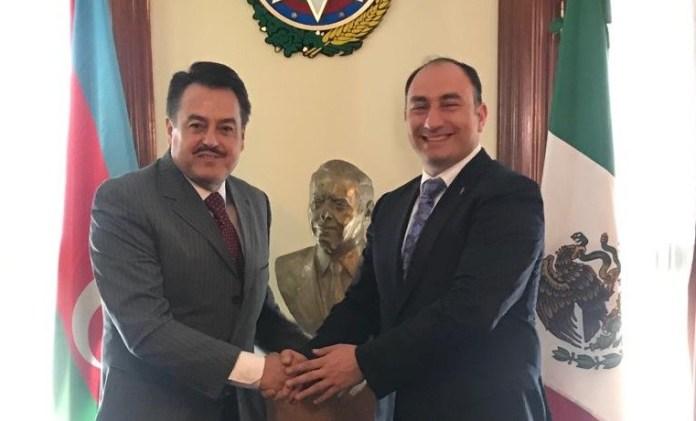 Se reúne Femat con encargado de negocios de la Embajada de Azerbaiyán en México
