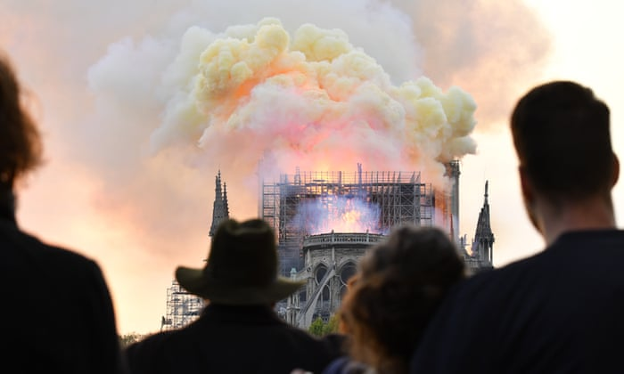 Our hearts bleed for our beloved Notre Dame-  OPINION