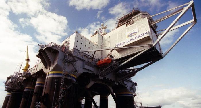 """Schwimmender Raumhafen """"Sea Launch"""" soll aus USA in den Fernen Osten verlagert werden"""