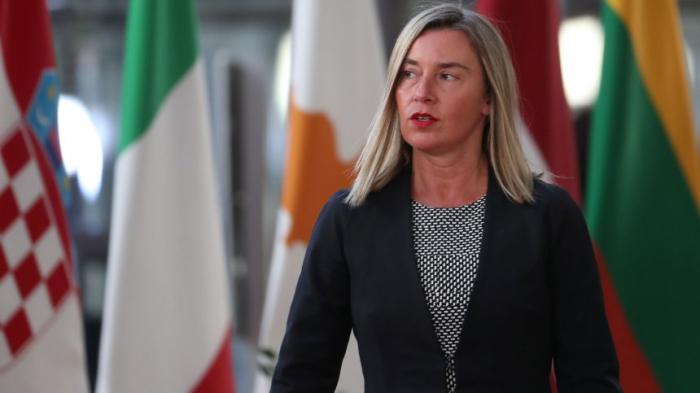 """Mogherini fordert Rückkehr der Schiffe der EU-Mission """"Sophia"""""""