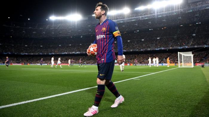 Messimit demFC Barcelona im Halbfinale