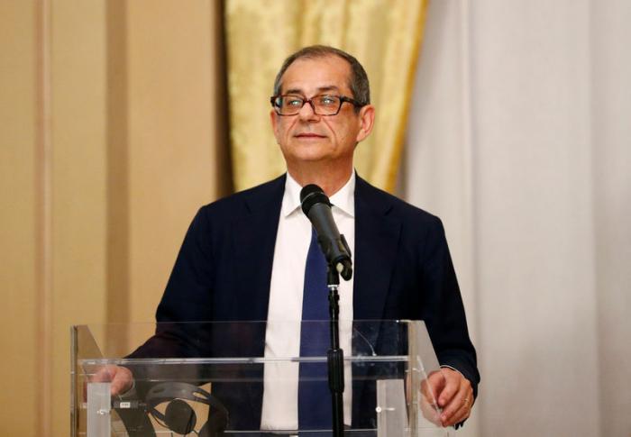 "Italiens Finanzminister sieht ""ermutigende Konjunktursignale"""