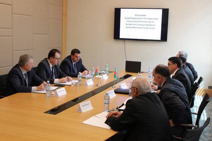 Azərbaycan-Belarus Qarışıq Komissiyasının iclası keçirilib