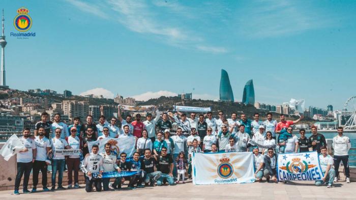 Homenaje a Modric en Bakú
