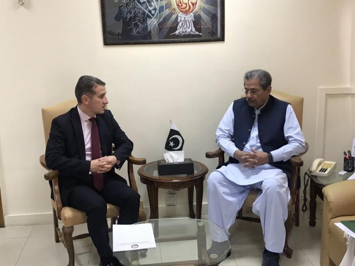 Ministro:  Pakistán continuará desarrollando relaciones amistosas y fraternales con Azerbaiyán