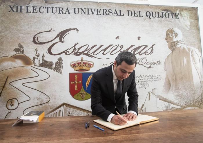 """En el Acto de lectura de """"Don Quijote"""" se leyó un fragmento de la novela en la lengua azerbaiyana"""