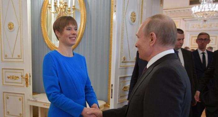 Putin empfängt erstmals seit zehn Jahren estnisches Staatsoberhaupt