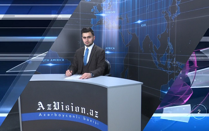 AzVision TV releases new edition of news in German for April 18 -  VIDEO