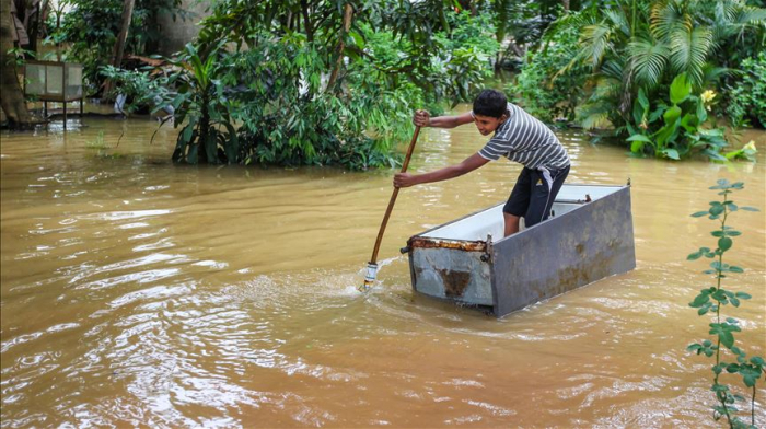 Death toll rises to 250 as rains wreak havoc in South Asia
