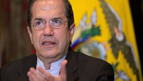 Dictan prisión preventiva contra Ricardo Patiño, excanciller de Ecuador