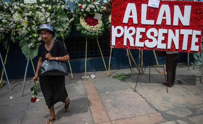 """Alan García defendió su inocencia por carta antes de suicidarse: """"No hubo cuentas ni sobornos"""""""