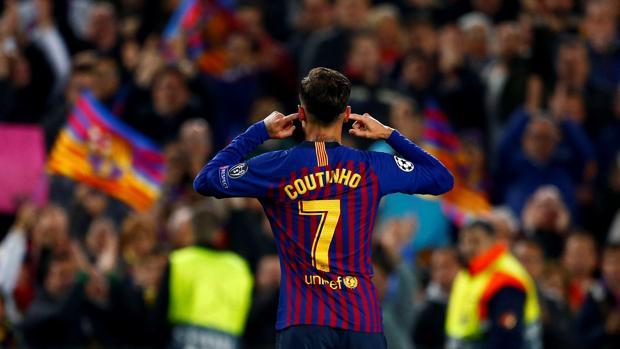 El Camp Nou juzga a Coutinho