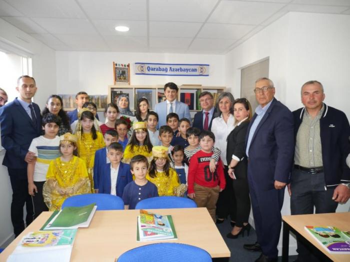 Se inaugura la escuela azerbaiyana en Nantes