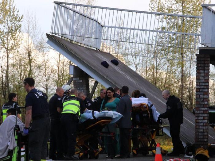 Canadá:  Se derrumba una terraza en plena boda y decenas de invitados resultan heridos