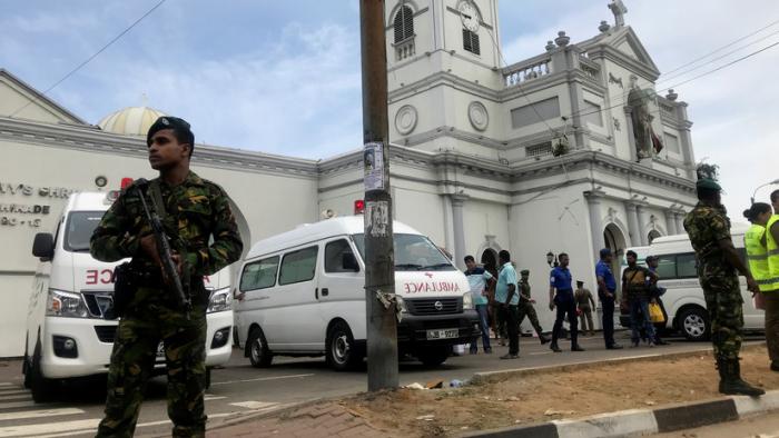 FOTOS: Terribles imágenes de las iglesias de Sri Lanka sacudidas por explosiones durante la misa de Pascua