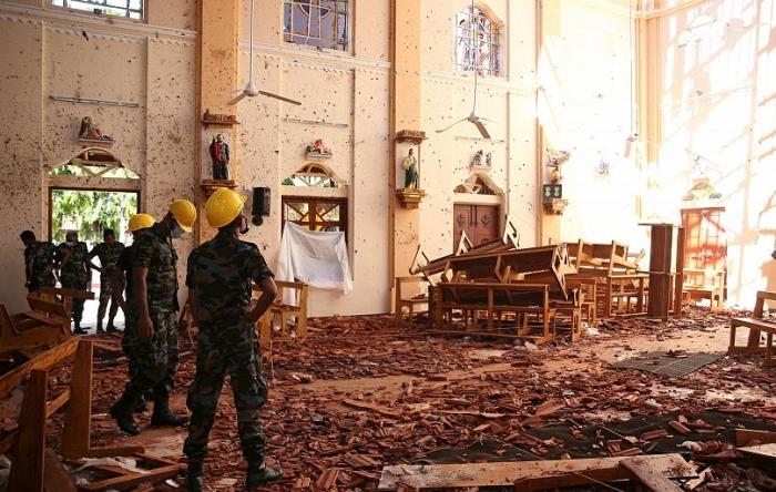 Şri-Lankada ölənlərin sayı 310 nəfərə çatıb