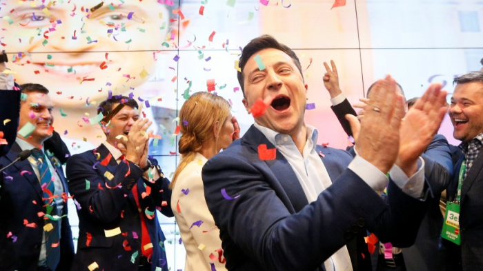 Politikneuling Selensky zum Präsidenten der Ukraine gewählt