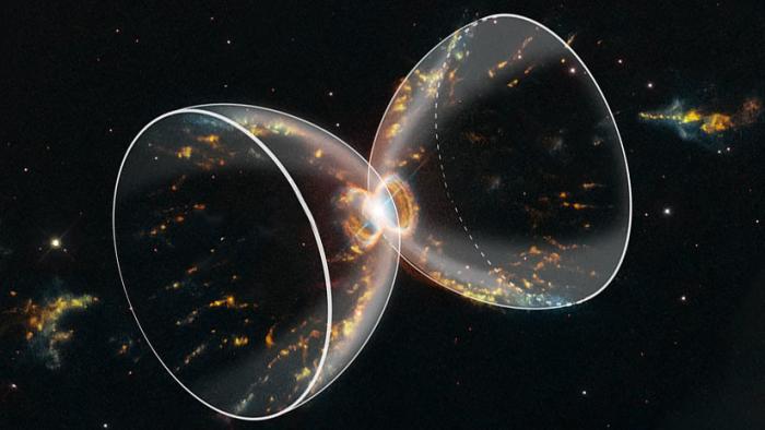 La NASA celebra el 29.˚ cumpleaños del Hubble con una nueva imagen de la Nebulosa del Cangrejo del Sur