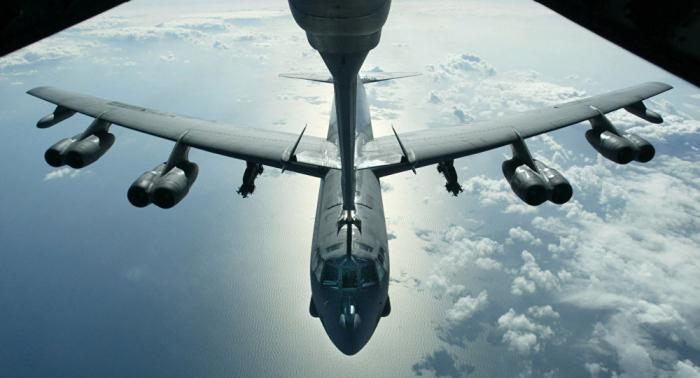 VIDEO: Explosionsstart von US-Atombomber aufgezeichnet
