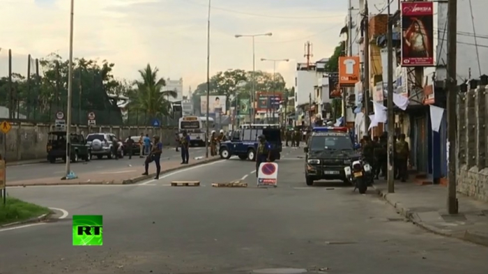 Blast hits van near Colombo church as bomb squad tried to defuse it -   WATCH LIVE