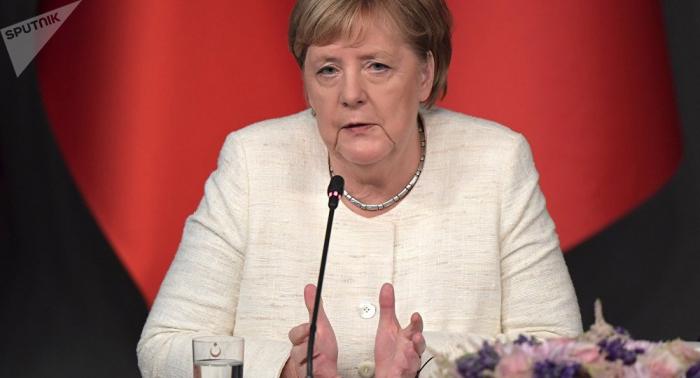Präsidentschaftswahl in der Ukraine: Merkel gratuliert Selenski