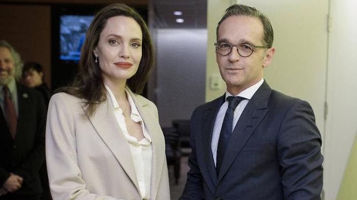 Maas und Jolie werben für UN-Resolution