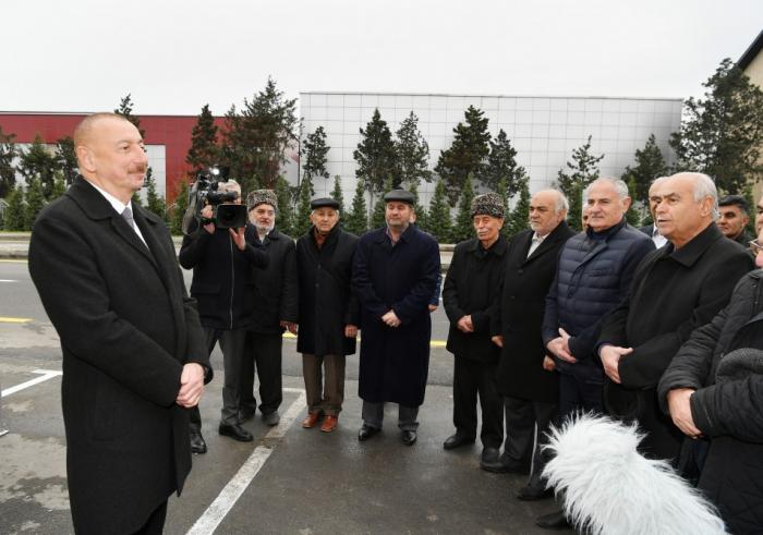 """""""Bundan sonra da çalışacağam ki, xalqıma ləyaqətlə xidmət edim"""" - Prezident"""