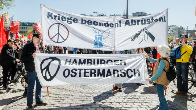 Die Friedensbewegung wird antieuropäisch