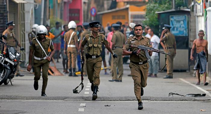 Decenas de detenidos a raíz de los atentados en Sri Lanka