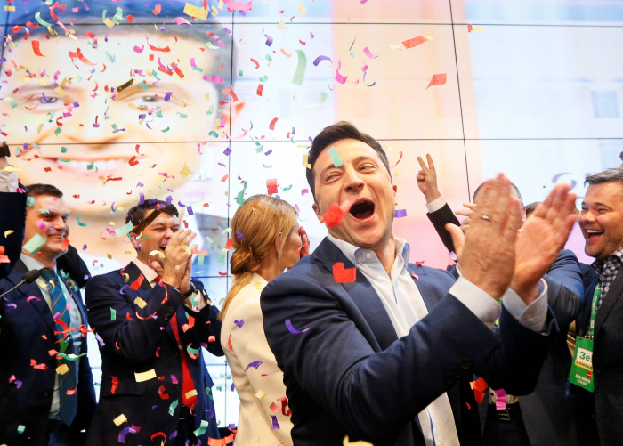 Zelenskiy's victory in Ukraine was extraordinary, but now he faces a real test-  OPINION