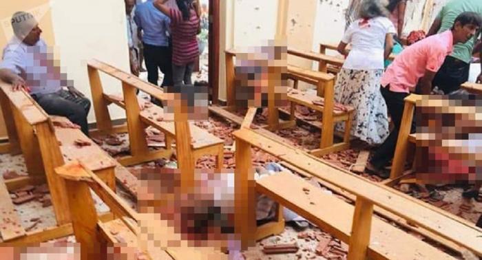 Publican el   vídeo   de un supuesto terrorista suicida de Sri Lanka