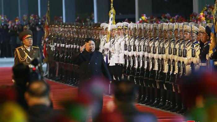 Kim trifft mit Sonderzug in Russland ein