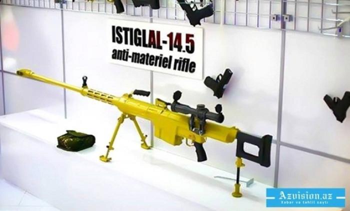 Las armas azerbaiyanas se demostrarán en Turquía