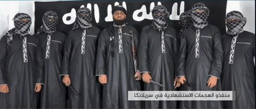 Los ocho terroristas del IS que sembraron el terror en Sri Lanka