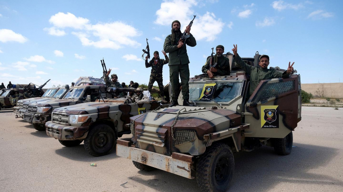 Death toll of clashes in Libya