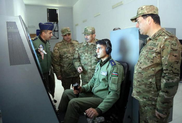 Eröffnung des neuen Kommandoposten des Luftwaffenstützpunktes der aserbaidschanischen Luftwaffe  (FOTOS / VIDEO)