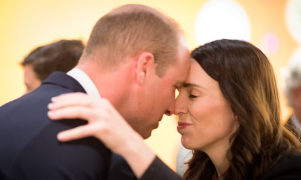 Prince William receives traditional Māori greeting in New Zealand