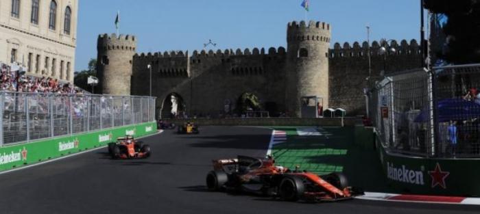 Horario y dónde ver en televisión el GP de Azerbaiyán de la F1