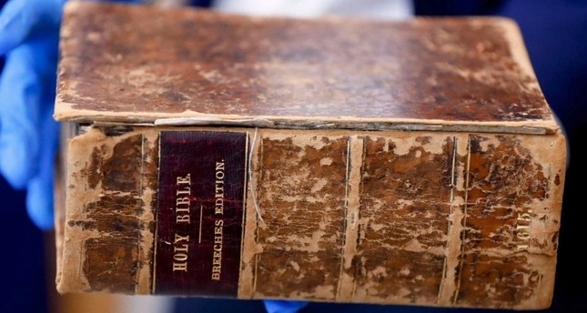 400-year-old Bible stolen from US is found in Netherlands