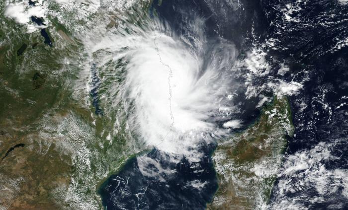 Un nuevo ciclón golpea Mozambique