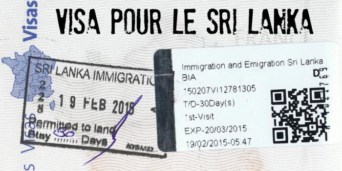 Sri Lanka pospone su programa para facilitar visas a 39 países